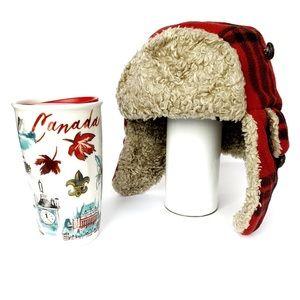 NEW STARBUCKS CANADA CANADIAN TRAVEL MUG COFFEE
